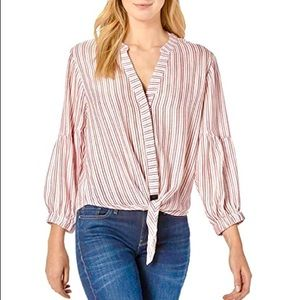 Michael Stars Catalina Kendra Red/White Top, S